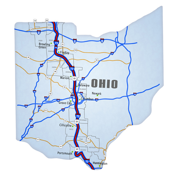 Ohio National I 73 I 74 I 75 Corridor Association
